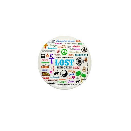 Lost Mini Button