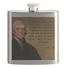 Jefferson Wise Government Flask