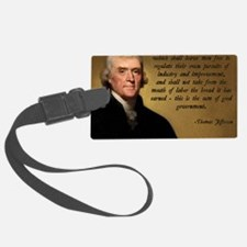 Jefferson Wise Government Luggage Tag