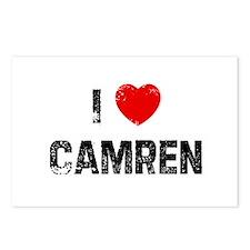 I * Camren Postcards (Package of 8)
