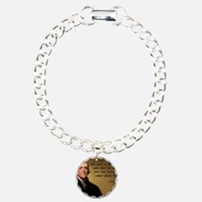 God and Liberty Quote Bracelet