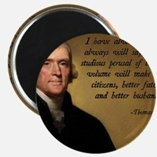 Thomas Jefferson Bible Quote Magnet