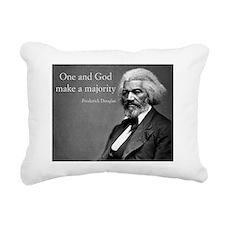 Frederick Douglass Quote Rectangular Canvas Pillow