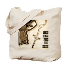 Guns and Religion Tote Bag