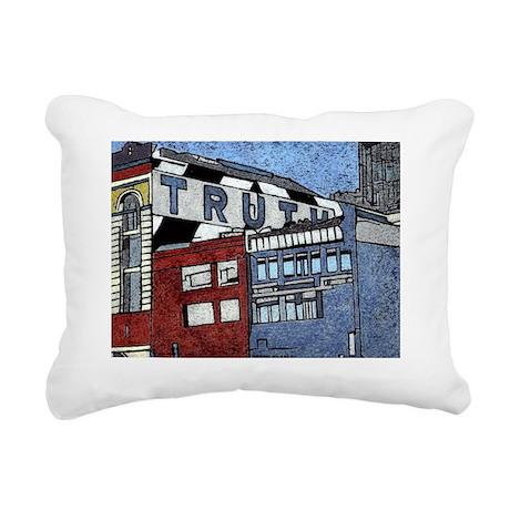 truth2 Rectangular Canvas Pillow