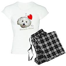 I Love My Bichon Frise Pajamas