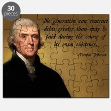 Jefferson Debt Quote Puzzle