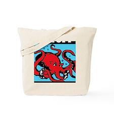 wide octopi Tote Bag