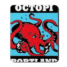 wide octopi Mousepad