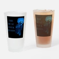 The Real Folk Bloos (blue1) Drinking Glass