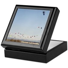 Spain, Tarifa, kite surfing Keepsake Box