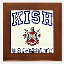 KISH University Framed Tile