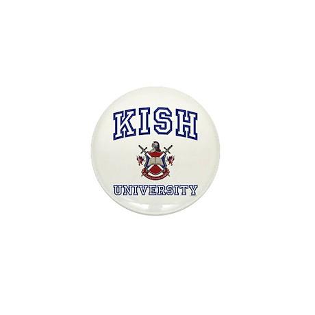 KISH University Mini Button