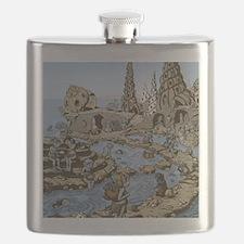 Shell Village Flask