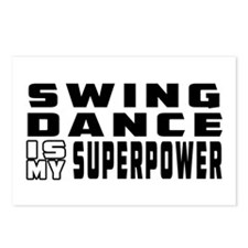 Swing Dance is my superpower Postcards (Package of