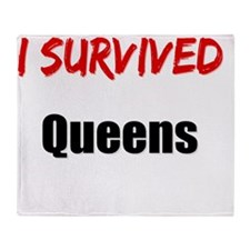 I survived QUEENS Throw Blanket