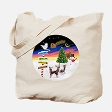 R-XSigns-3HLCresteds Tote Bag