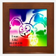 UH x7 colors 2 inverse Framed Tile