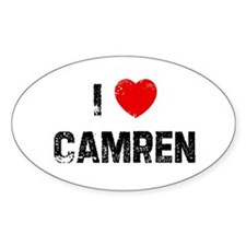 I * Camren Oval Decal
