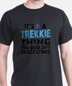 Shower Trekkie Blue T-Shirt