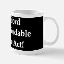 anti obama affordableduttond Mug