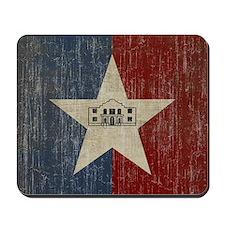 Vintage San Antonio Flag Mousepad