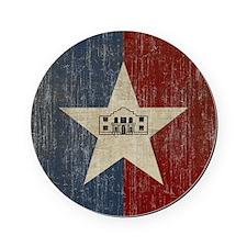 Vintage San Antonio Flag Cork Coaster