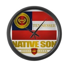 Tennessee Native Son Large Wall Clock