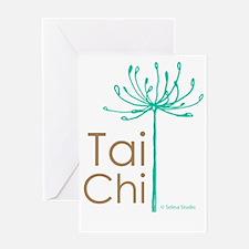 Tai Chi Heart 2 Greeting Card
