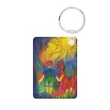 Rainbows In The Dark Keychains