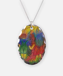 Rainbows In The Dark Necklace