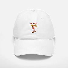 Oh , SNAP ! Snappy Moose Baseball Baseball Cap