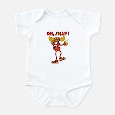 Oh , SNAP ! Snappy Moose  Infant Bodysuit
