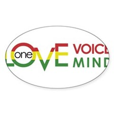 NEW-One-Love-voice-mind8 Decal