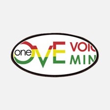 NEW-One-Love-voice-mind8 Patches