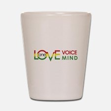 NEW-One-Love-voice-mind8 Shot Glass