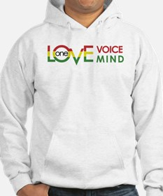 NEW-One-Love-voice-mind8 Hoodie