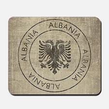 Vintage Albania Mousepad