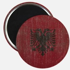 Vintage Albania Flag Magnet