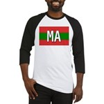 Morocco Colors Baseball Jersey