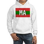 Morocco Colors Hooded Sweatshirt