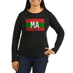 Morocco Colors Women's Long Sleeve Dark T-Shirt