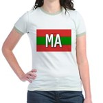 Morocco Colors Jr. Ringer T-Shirt