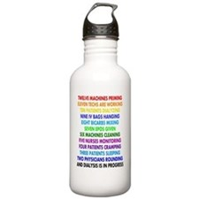DIALYSIS 12 DAYS OF CH Water Bottle