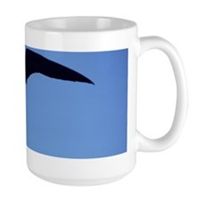 Frigate bird in flight Mug