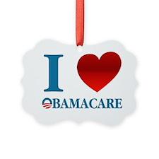 I Love Obamacare Ornament