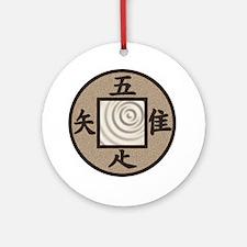 Tsukubai Round Ornament