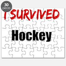 I survived HOCKEY Puzzle