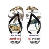 Lizard Flip Flops
