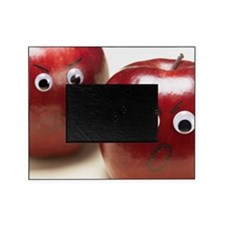 Two Angry Apples Picture Frame